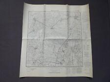 Landkarte Meßtischblatt 1923 Hohenwestedt, Puls, Looft, Peissen, Ridders um 1945