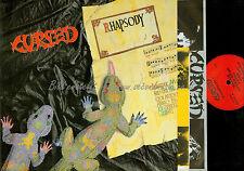 LP--CURSED RHAPSODY // OIS + PROMOSHEETS + PICTURE