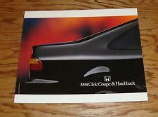 Original 1994 Honda Civic Coupe & Hatchback Deluxe Sales Brochure 94