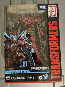 Transformers studio series 61 Sentinel Prime NIB as Hasbro Tamara tomy