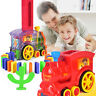 Domino Rally Electronic Train Model Kids Colorful Toy Set Girl and Boy lots w4g
