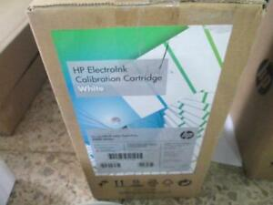 HP Indigo ElectroInk Q4186A Calibration Cartridge White for 5000