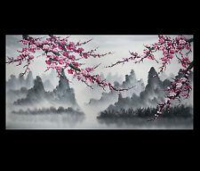 Large Canvas Prints Wall Art Decor Modern Abstract Art Japanese Cherry Blossom