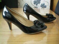 Bellissimo black patent shoes uk 6