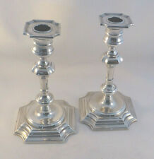 """Pair of Gorham Sterling 7"""" #593 Weighted Candlesticks"""