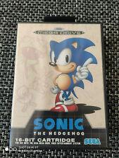 Sonic Sega Mega Drive PAL