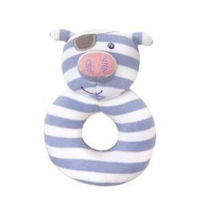 NEW Apple Park Pirate Pig Organic Rattle Children Baby