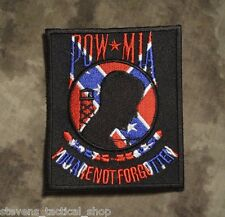 "Confederate POW MIA ""You Are Not Forgotten"" Patch"
