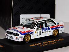 BMW M3 E30 FINA #18 DUEZ / LOPES MONTE CARLO 1989 IXO RAC049 1/43