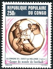 SELLOS DEPORTES FUTBOL. CONGO 1974 A-192 COPA DEL MUNDO MUNICH 74 1v