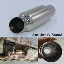 "2"" Inlet Stainless Steel Car Anti-break Sound Muffler Exhaust Pipe (AU Stock)"