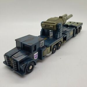 Vintage G1 1986 Hasbro Transformers Onslaught  with Canon Accessory