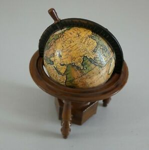 MINIATURE WORKING GLOBE 1:12th SCALE FOR THE DOLLS HOUSE