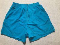 Vintage Reebok Shorts Nylon/ Polyamide Trunks Size XL TEAL #J4