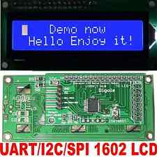 Serial Uarti2cspi Adapter Whiteblue 1602 Lcd For Arduinopicavr