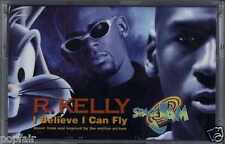 "R KELLY - I BELIEVE I CAN FLY 1996 UK CASSINGLE FROM THE OST MOVIE ""SPACE JAM"""