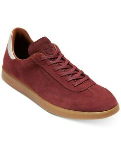 Cole Haan Mens Grandpro Turf Suede Lifestyle Sneakers, Mahogany Sude 10.5M