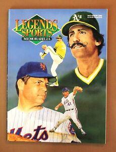 Legends Sports Memorabilia July/August 1992 Rollie Fingers/Tom Seaver Vol.5 #4