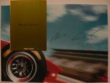 Michel Comte Object Carpet Original Buch signed signiert autograph Signatur