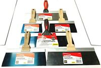 "Goldblatt Drywall Taping Knife Set 6"" 8"" 10"" 12"" 14"""