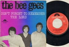 """BEE GEES Don'T Forget To Remember  7"""" Ps, Rare Orig Dutch Issue, B/W The Lord, 5"""