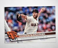 2017 Topps #65A Madison Bumgarner - NM-MT
