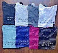 Banana Republic Women Logo Tee Short Sleeve T-Shirt S M L