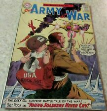 Our Army at War 132, (FN/VF 7.0) 1963 Kubert art! 40% off Guide!