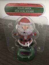 Solar Powered Dancing Toy Bobblehead Christmas Santa Claus and Elf