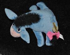 Peluche doudou bourriquet DISNEY FISHER PRICE MATTEL bleu mauve 22 cm couché