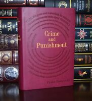 Crime and Punishment by Fyodor Dostoyevsky Brand New Deluxe Leather Feel Gift