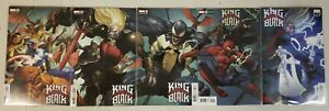 King in Black #1-5 1 2 3 4 5 MARVEL Comics Complete Yu Connecting Variant Set NM
