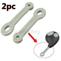 2pc Remote Key Fob Ring Rubber Strap hoop For Cobra 7777B & 7777 Alarm 2 Button