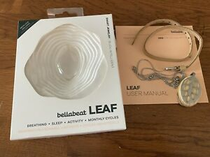 Bellabeat LEAF Nature Health Tracker - Silver Edition w/ Silver Necklace