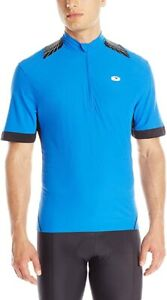 NWT Sugoi Men's Neo Pro Cycling Jersey Short Sleeve 1/2 Zip True Blue Size S