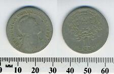 Portugal 1927 - 1 Escudo Copper-Nickel Coin - Liberty Head - #2