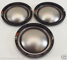 3 JBL 2440J 2441J 2445J Aftermarket 16 ohm Diaphragms - New, but Dented Domes