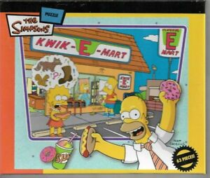 The simpsons Dinner with dad Kwik e mart 63 piece jigsaw puzzle New