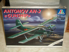 "Italeri 1/72 Scale Antonov AN-2 ""Gunship""  -  Factory Sealed"