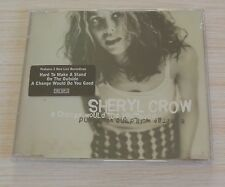 RARE CD MAXI SINGLE 4 TITRES A CHANGE WOULD DO YOU GOOD SHERYL CROW  NEUF