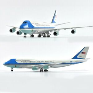 1/150 US Air Force Boeing 747 Airplane Diecast Model 18 inches Aircraft Plane