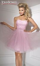 Tony Bowls Prom Dress Party  Evening  Short Homecoming Sexy Pink  Size 6