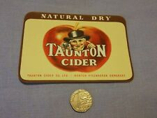 Taunton Cider Label