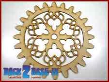 Steampunk Cogs Gears Wheel Laser Cut MDF Decorative Accessory 200mm x 3mm COG3
