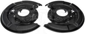 Dorman 924-661 Brake Dust Shield - 1 Pair For 04-08 Toyota Avalon Camry Solara