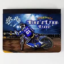 Kings Lynn Speedway iPad Funda piel cubierta de la tableta personalizada SW11