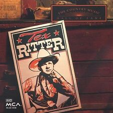 Country Music Hall of Fame by Tex Ritter (CD, Jun-1999) Free Ship #GC91
