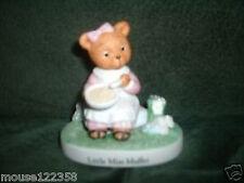 Bronson Collectables Little Miss Muffet Bear Figurine