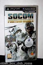 SOCOM FIRETEAM BRAVO 3 GIOCO NUOVO SONY PSP EDIZIONE ITALIANA PRIMA STAMPA PG