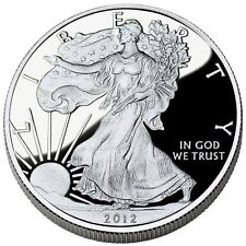 2012 American Silver Eagle Dollar US Coin 1 Troy Ounce  999 Fine Silver GEM BU
